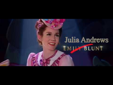 'Mary Poppins Returns' 2018  with Julie Andrews as Mary Poppins  DEEPFAKE