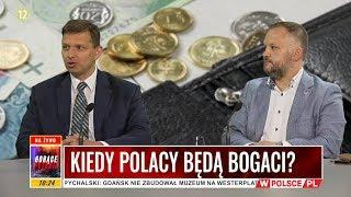 KIEDY POLACY BĘDĄ BOGACI? Zuber: Naszym portfelem zarządza świat
