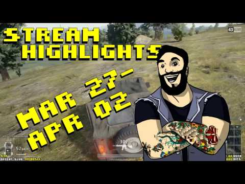 Twitch Highlights March 27th - April 2nd 2017 [PUBG]