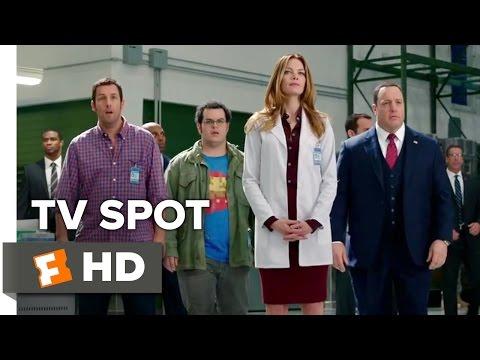 Pixels TV SPOT - Save the World (2015) - Adam Sandler, Peter Dinklage Movie HD