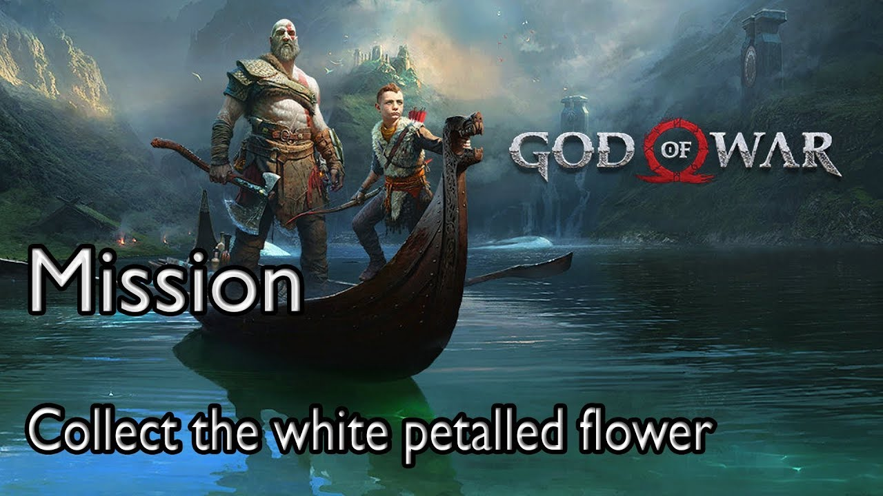 God Of War 4 Mission Path To The Mountain Collect The White