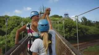 ZIPLINE OAHU, HAWAII – CLIMB Works Keana Farms