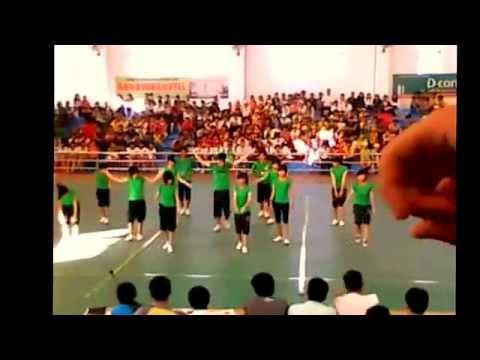 Erobic Truong THPT Ninh Hai lop 11B12 Pro