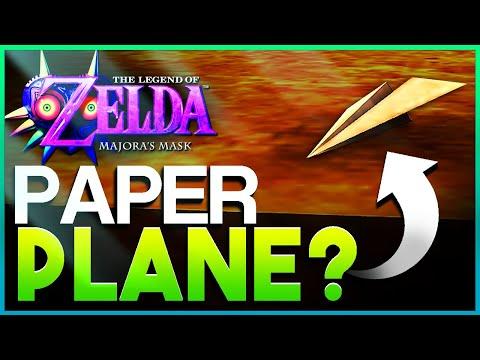Majora's Mask's Paper Airplane & More - 5 Zelda Secrets & References #4