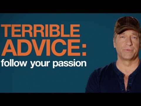 Mike Rowe Tells Students to Give Up Their Dreams