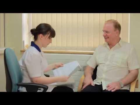Derbyn Radiotherapi yng Nghanolfan Ganser Felindre