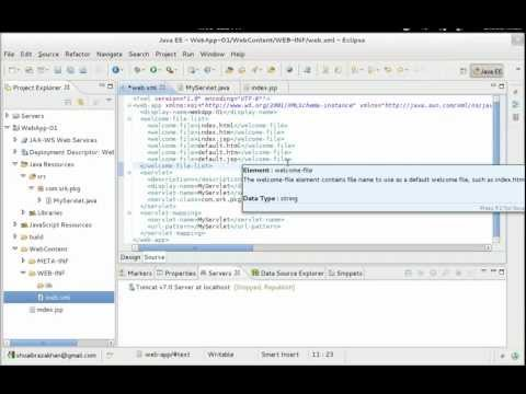 Creating a Web Application with Eclipse IDE