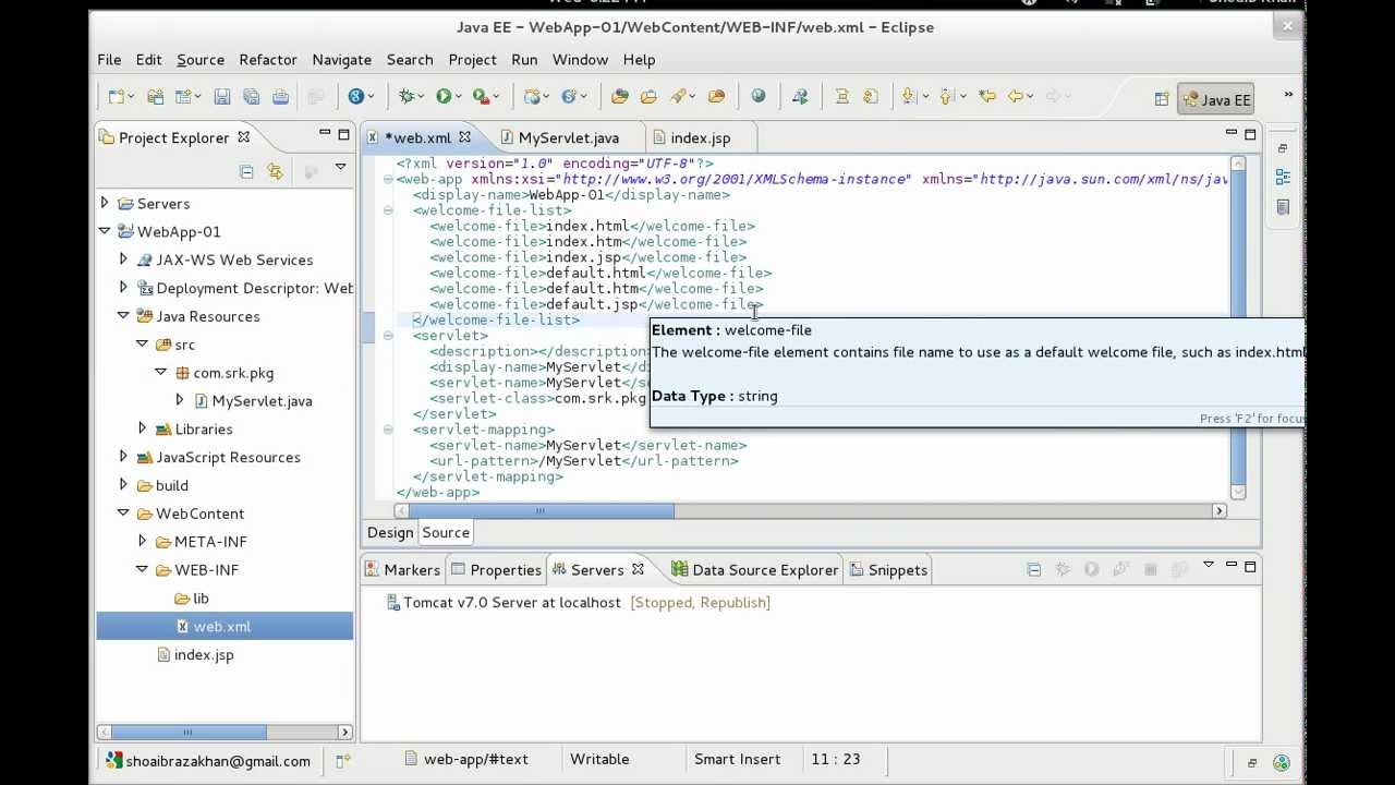 Creating a web application with eclipse ide youtube baditri Image collections