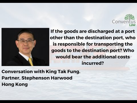 Shipping Law - Transporting the goods to the destination port.