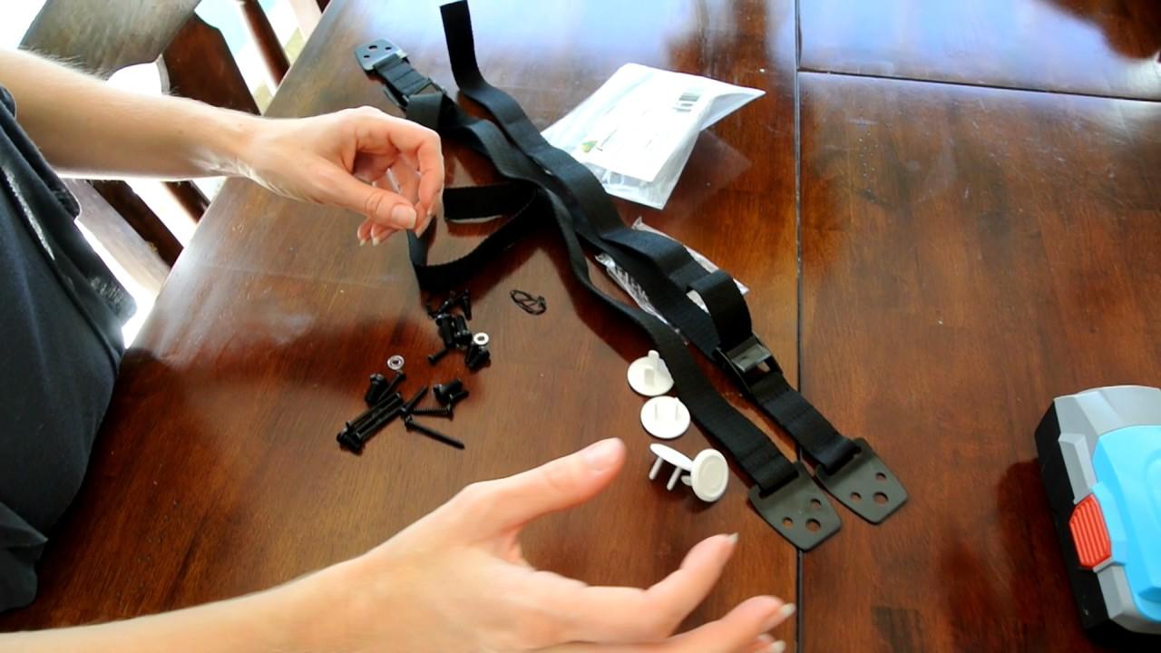 Instructional Video Anti Tip Tv Furniture Straps