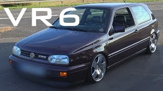 vw golf 3 vr6 sound accelerations onboard autobahn 0 240 km h