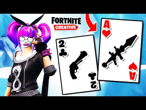 🔥NOWY TRYB - WOJNA NA KARTY🃏  | Fortnite Creative