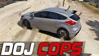 Dept. of Justice Cops #339 - Focused Drifting (Criminal)