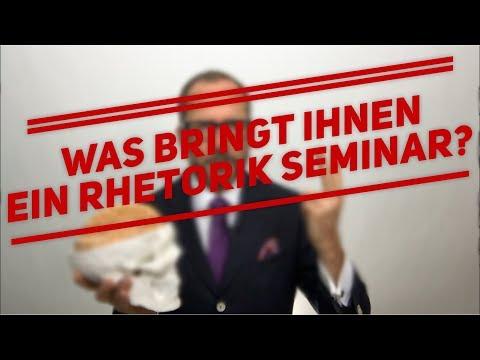 Rhetorik Seminar: Was bringt Ihnen ein Rhetorik Seminar?