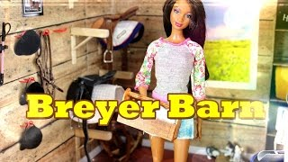 diy how to make doll breyer horse barn tack and feed room handmade doll crafts