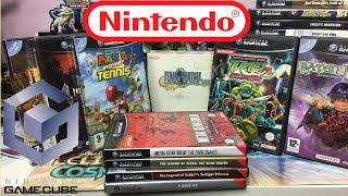 Présentation de ma collection rétro de jeux vidéo Nintendo GameCube