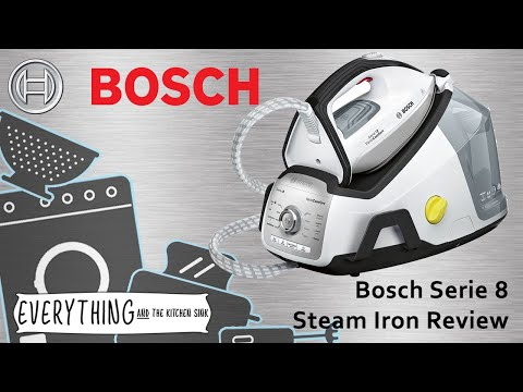 Bosch Series 8 Steam Iron Product Review