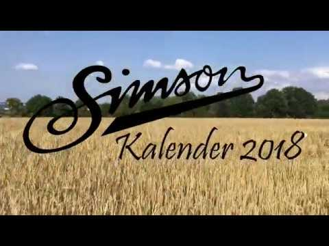 simson kalender 2018 shooting am kornfeld youtube. Black Bedroom Furniture Sets. Home Design Ideas