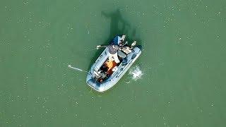 Рыбалка на СУДАКА в запрет! Ловля  судака с лодки в мае 2018