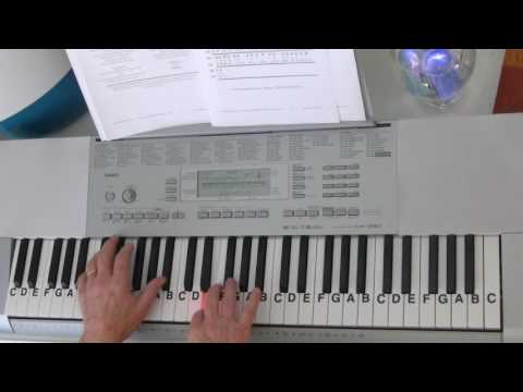 The Navy Hymn ~ Cover Tutorial ~ Eternal Father, Strong To Save ~ LetterNotePlayer ©