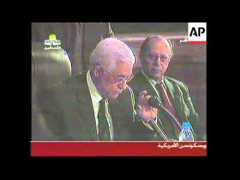 Abbas announces election date, Hamas militants