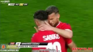 albania vs ukraine 1 3 friendly match highlights 3 6 2016 shqiperi ukraine