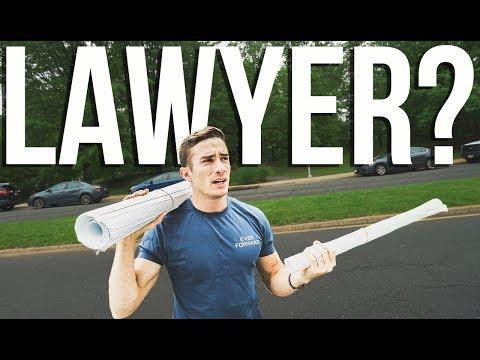 WE NEED A LAWYER