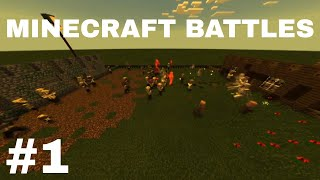 Minecraft Battles 1: Villagers VS Husks. TC Blox YTC (13+) -TC Blox / TC Blox YTC ✔