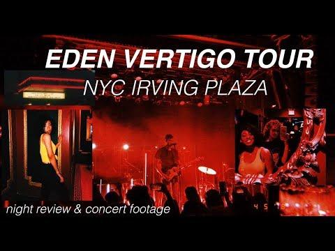 eden vertigo tour//NYC + get (un)ready w me !!