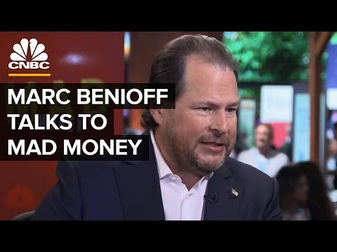 Salesforce CEO Marc Benioff On Mad Money