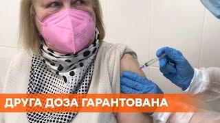 Коронавирус в Украине все кто вакцинировался CoronaVac гарантированно получат вторую дозу