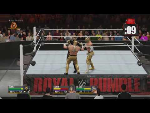 WWE Royal Rumble 2016 Match HD (2K16)
