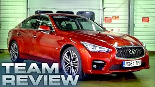 Infiniti Q50 (Team Review) - Fifth Gear