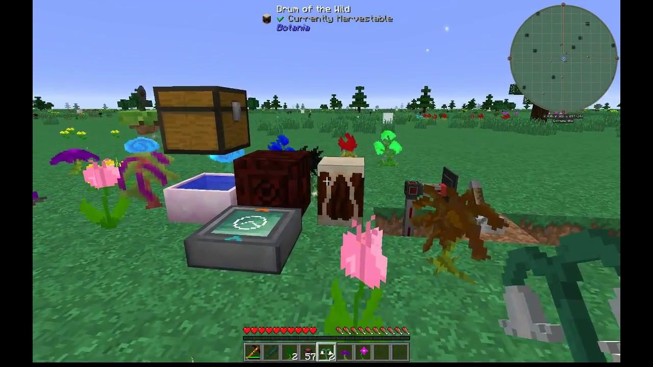 Minecraft Mystical Flowers - Design Templates