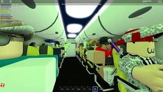My first Roblox FLIGHT!!! Origin Air!!!!