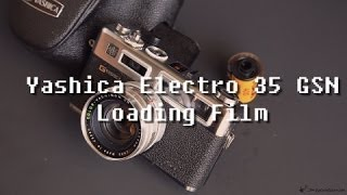 Yashica Electro 35 GSN (Loading Film)