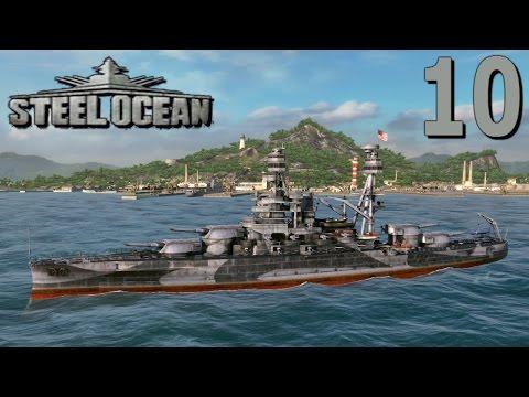 Steel Ocean Gameplay - Battleship Pennsylvania Tier VI - E10