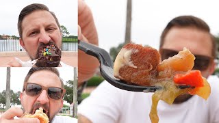 Delicious Eats At EPCOT's Food & Wine Festival, Searching For New Disney Merch & Skyliner Fun!