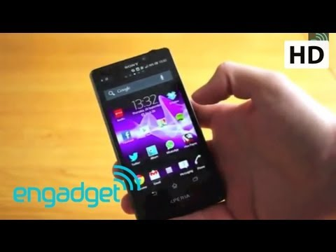 Sony Xperia T Review   Engadget
