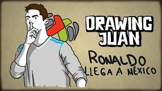 CRISTIANO RONALDO AL AMÉRICA  DRAWING JUAN