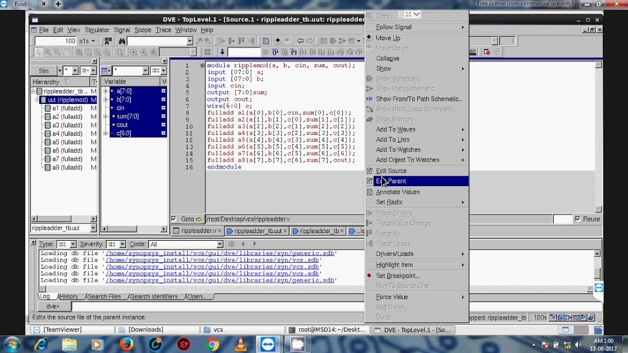 Synopsys VCS Basic tutorial - HDL simulation flow