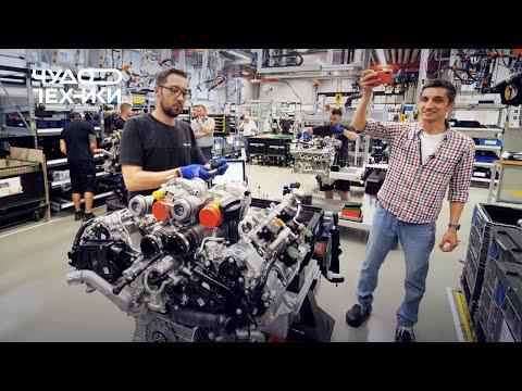 Как делают двигатели Mercedes-AMG