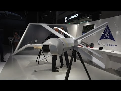 Ударный беспилотник-камикадзе «ZALA Ланцет» от концерна «Калашников»