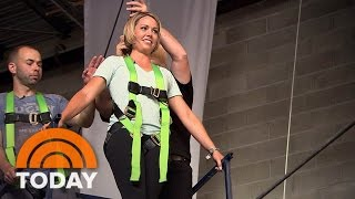 Dylan Dreyer Walks High Wire With 'Impractical Jokers' | TODAY