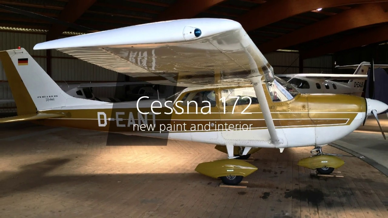1970 Cessna 172 Restored With New Paint And Interior