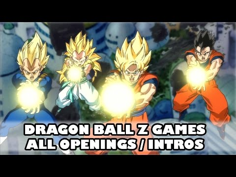 Dragon Ball Z Video Games All Openings Intros (1988 to 2015)