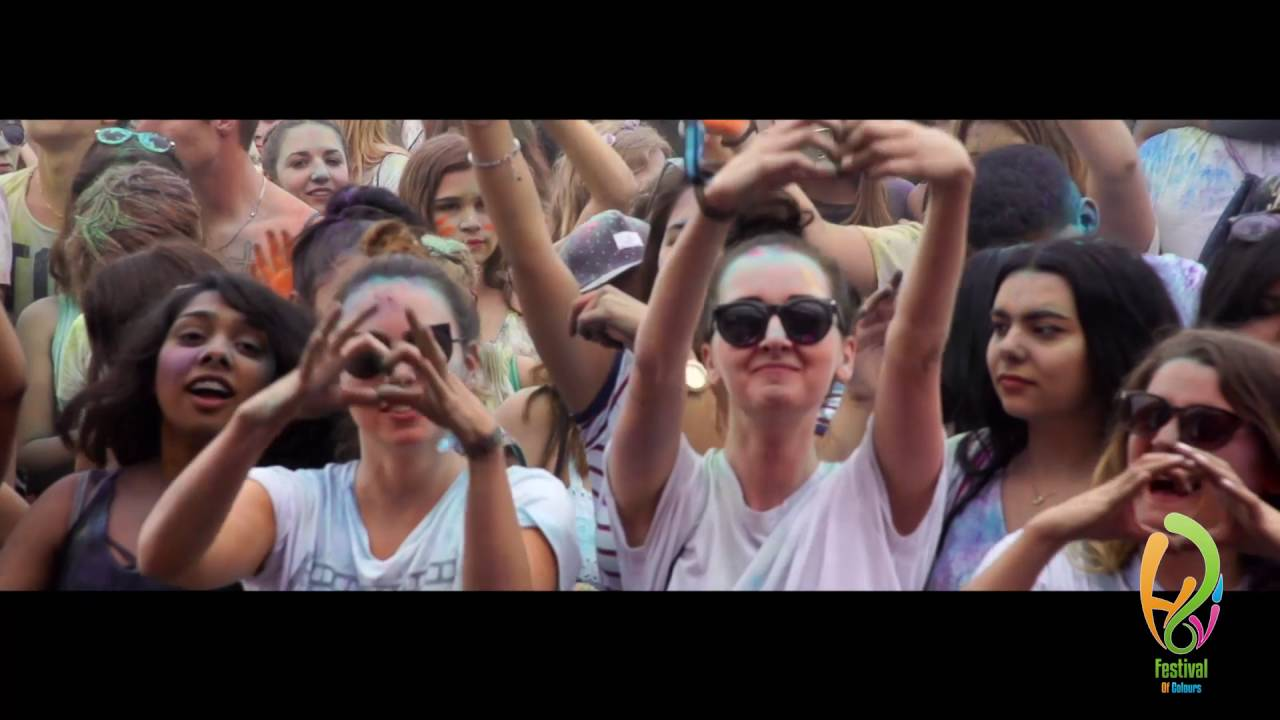 Holi Festival Of Colours Zurich 2016 Official Aftermovie Youtube
