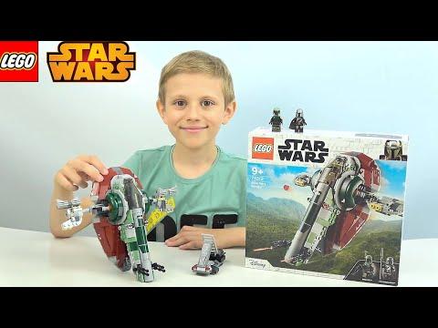 Lego STAR WARS - Мандалорец и Звездолёт Бобы Фетта 75312 - Даник и ЛЕГО Звёздные Войны