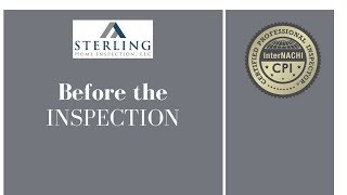 Before Your Home Inspection