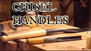TREADLE LATHE CHISEL HANDLES